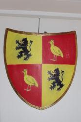 Bouclier médiéval (commande de particulier)