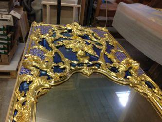 Paravent Louis XVI - Travail effectué à l'atelier Nguyen
